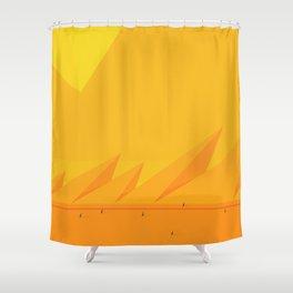 El Tramo Largo Shower Curtain