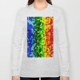 Rainbow Moon Love Long Sleeve T-shirt