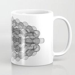 GEOMETRIC NATURE: COULOMB CRYSTAL w/b Coffee Mug