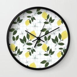 Lemon Breeze Wall Clock