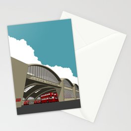 Stockwell Bus Garage 1952 Stationery Cards
