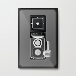 Camera Vintage, imagine Metal Print