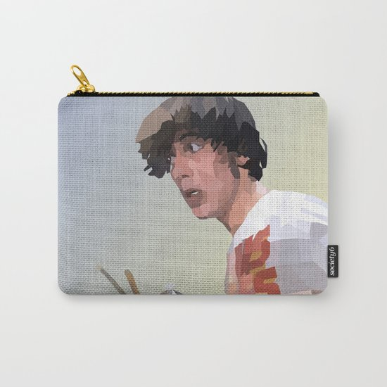 Low Polygon Portrait of Keith Moon Carry-All Pouch