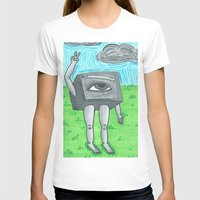 technology T-shirts featuring Technology life by Diane McGregor Art