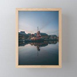 Fells Waterfront 02 Framed Mini Art Print