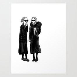 mary-kate n ashley 4 eva Art Print