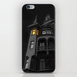 Haunted House (#Drawlloween2016 Series) iPhone Skin