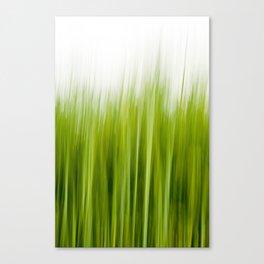 Grass wipe --- Gras-Wusch Canvas Print
