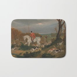 The Suffolk Hunt - John Frederick Herring Bath Mat