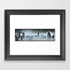 Nuclear winter, Apocalypse Framed Art Print