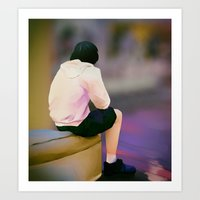 Sitting Out Art Print