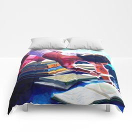 """""""Artificial Intelligence"""" by Adam France Comforters"""