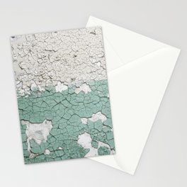 Gruge cracked chipped paint Stationery Cards