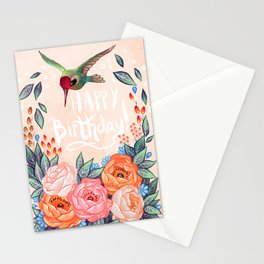 Welcome Hummingbird Stationery Cards