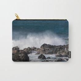 Lava Rock Ocean Spray Carry-All Pouch
