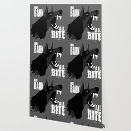No Bark, All Bite Wallpaper