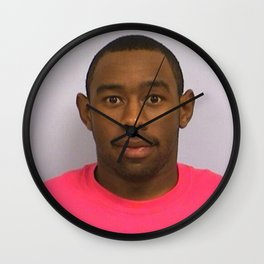 Tyler The Creator Mugshot Wall Clock