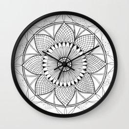 Wheel Of Fortune - Mandala Wall Clock