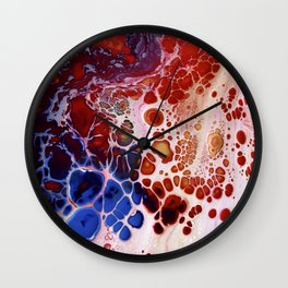 MOVING THROUGH THE PAIN Wall Clock