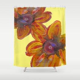 SEEKING SUMMER FLOWERS Shower Curtain