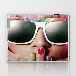 Carnaval girl Laptop & iPad Skin