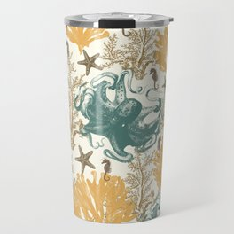 Aquatic Pattern 2 Travel Mug