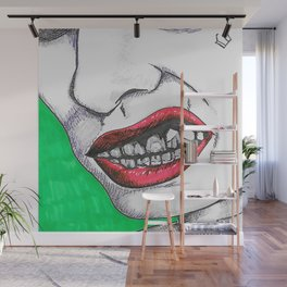 Crooked Wall Mural