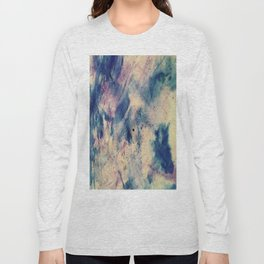 Abstract Color Enhance Long Sleeve T-shirt