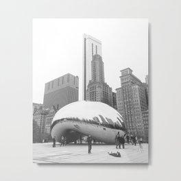 The Chicago Bean #2 Metal Print
