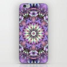 Lilac Mandala iPhone & iPod Skin