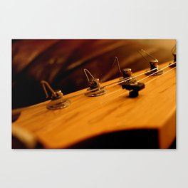 Guitar Tuners Canvas Print