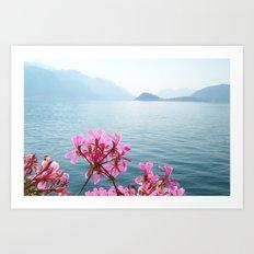 Italian Lakes Art Print