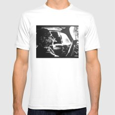 Bukowski's Sunday Drive Mens Fitted Tee White MEDIUM