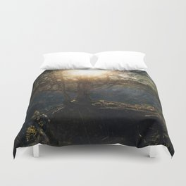 a special kind of night Duvet Cover