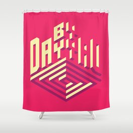 Day by Day Shower Curtain