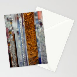 Abstract Glass Stationery Cards