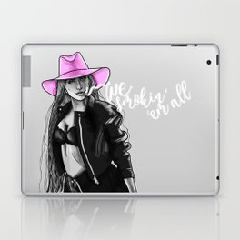 We Smokin' 'em all Laptop & iPad Skin