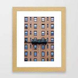 FACADES OF NY - 03 Framed Art Print