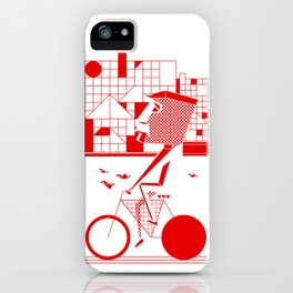 Bicycle I. iPhone Case