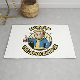 I survived the apocalypse Rug