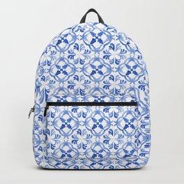 Blue Portuguese tiles II Backpack