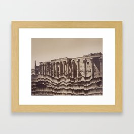 Crumble Framed Art Print