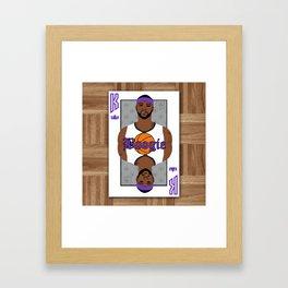 Boogie Cuz Framed Art Print