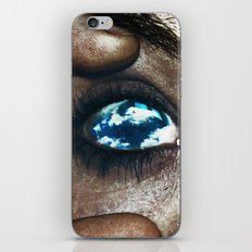 Ojos color cielo iPhone & iPod Skin