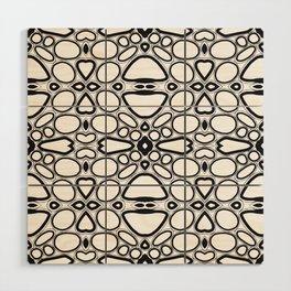 fancy grid Wood Wall Art