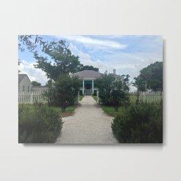 Beauvoir Garden Entrance Metal Print