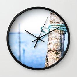 Beach Tie Off Wall Clock