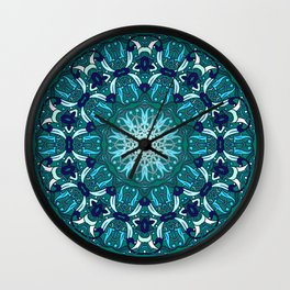 Storyteller (lush meadow) Wall Clock