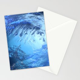 Ice Mountain Landscape Stationery Cards