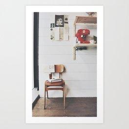 culture chair Art Print